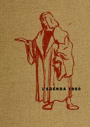 1960 Edition, Bucknell University - L Agenda Yearbook (Lewisburg, PA)