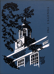 1961 Edition, Bucknell University - L Agenda Yearbook (Lewisburg, PA)