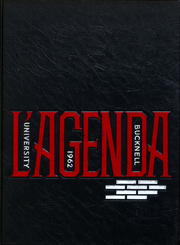 1962 Edition, Bucknell University - L Agenda Yearbook (Lewisburg, PA)