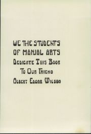 Page 9, 1913 Edition, Manual Arts High School - Artisan Yearbook (Los Angeles, CA) online yearbook collection
