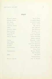 Page 15, 1937 Edition, Manual Arts High School - Artisan Yearbook (Los Angeles, CA) online yearbook collection