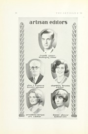 Page 16, 1937 Edition, Manual Arts High School - Artisan Yearbook (Los Angeles, CA) online yearbook collection
