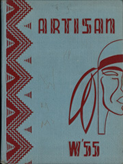 1955 Edition, Manual Arts High School - Artisan Yearbook (Los Angeles, CA)