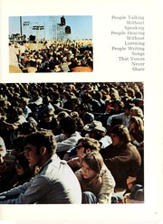 Page 17, 1970 Edition, Palm Beach Community College - Galleon Yearbook (Lake Worth, FL) online yearbook collection