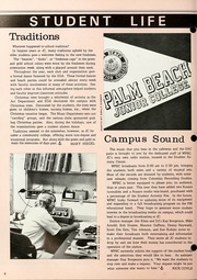 Page 8, 1976 Edition, Palm Beach Community College - Galleon Yearbook (Lake Worth, FL) online yearbook collection