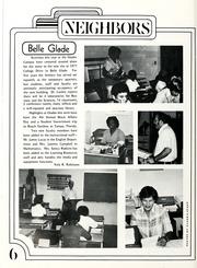 Page 8, 1977 Edition, Palm Beach Community College - Galleon Yearbook (Lake Worth, FL) online yearbook collection