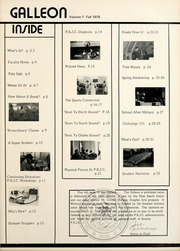 Page 3, 1978 Edition, Palm Beach Community College - Galleon Yearbook (Lake Worth, FL) online yearbook collection