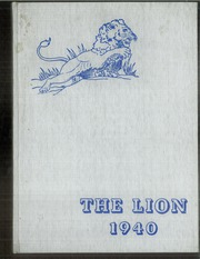 Page 1, 1940 Edition, Red Lion Area High School - Lion Yearbook (Red Lion, PA) online yearbook collection