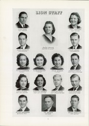 Page 10, 1940 Edition, Red Lion Area High School - Lion Yearbook (Red Lion, PA) online yearbook collection