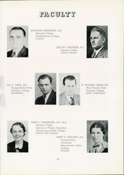 Page 17, 1940 Edition, Red Lion Area High School - Lion Yearbook (Red Lion, PA) online yearbook collection