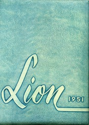 Page 1, 1951 Edition, Red Lion Area High School - Lion Yearbook (Red Lion, PA) online yearbook collection