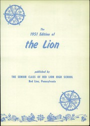 Page 7, 1951 Edition, Red Lion Area High School - Lion Yearbook (Red Lion, PA) online yearbook collection