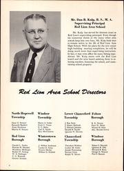 Page 12, 1957 Edition, Red Lion Area High School - Lion Yearbook (Red Lion, PA) online yearbook collection