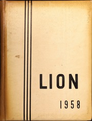 Page 1, 1958 Edition, Red Lion Area High School - Lion Yearbook (Red Lion, PA) online yearbook collection