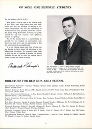 Page 15, 1958 Edition, Red Lion Area High School - Lion Yearbook (Red Lion, PA) online yearbook collection