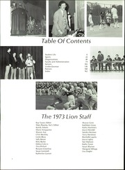 Page 6, 1973 Edition, Red Lion Area High School - Lion Yearbook (Red Lion, PA) online yearbook collection