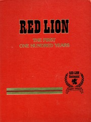 Page 1, 1980 Edition, Red Lion Area High School - Lion Yearbook (Red Lion, PA) online yearbook collection