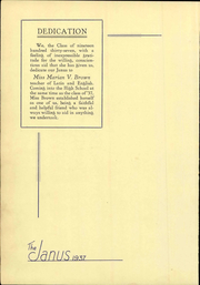Page 12, 1937 Edition, Hazleton High School - Janus Yearbook (Hazleton, PA) online yearbook collection