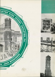 Page 7, 1939 Edition, Hazleton High School - Janus Yearbook (Hazleton, PA) online yearbook collection
