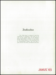 Page 11, 1945 Edition, Hazleton High School - Janus Yearbook (Hazleton, PA) online yearbook collection