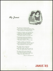 Page 13, 1945 Edition, Hazleton High School - Janus Yearbook (Hazleton, PA) online yearbook collection