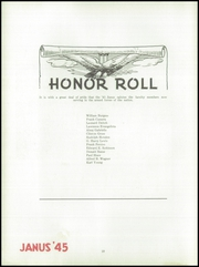 Page 14, 1945 Edition, Hazleton High School - Janus Yearbook (Hazleton, PA) online yearbook collection