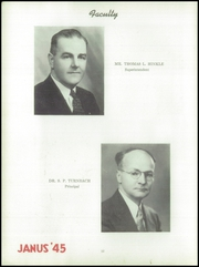 Page 16, 1945 Edition, Hazleton High School - Janus Yearbook (Hazleton, PA) online yearbook collection