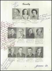 Page 13, 1946 Edition, Hazleton High School - Janus Yearbook (Hazleton, PA) online yearbook collection