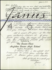 Page 5, 1946 Edition, Hazleton High School - Janus Yearbook (Hazleton, PA) online yearbook collection