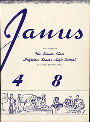 Page 9, 1948 Edition, Hazleton High School - Janus Yearbook (Hazleton, PA) online yearbook collection