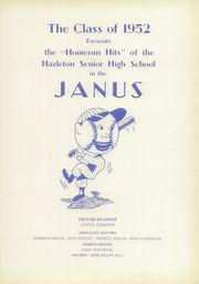 Page 5, 1952 Edition, Hazleton High School - Janus Yearbook (Hazleton, PA) online yearbook collection