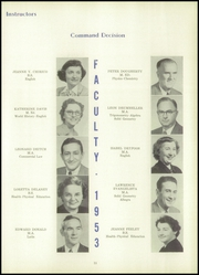 Page 17, 1953 Edition, Hazleton High School - Janus Yearbook (Hazleton, PA) online yearbook collection