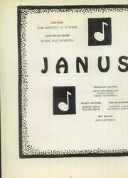 Page 6, 1956 Edition, Hazleton High School - Janus Yearbook (Hazleton, PA) online yearbook collection