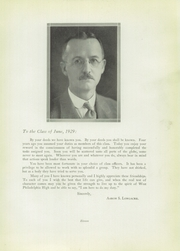 Page 15, 1929 Edition, West Philadelphia High School - Record Yearbook (Philadelphia, PA) online yearbook collection