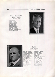 Page 13, 1934 Edition, West Philadelphia High School - Record Yearbook (Philadelphia, PA) online yearbook collection