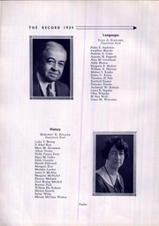Page 14, 1934 Edition, West Philadelphia High School - Record Yearbook (Philadelphia, PA) online yearbook collection