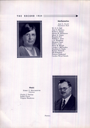 Page 16, 1934 Edition, West Philadelphia High School - Record Yearbook (Philadelphia, PA) online yearbook collection