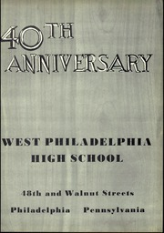 Page 5, 1953 Edition, West Philadelphia High School - Record Yearbook (Philadelphia, PA) online yearbook collection