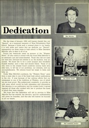 Page 7, 1953 Edition, West Philadelphia High School - Record Yearbook (Philadelphia, PA) online yearbook collection