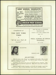 Page 98, 1957 Edition, West Philadelphia High School - Record Yearbook (Philadelphia, PA) online yearbook collection