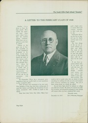 Page 10, 1928 Edition, South Hills High School - Lives Yearbook (Pittsburgh, PA) online yearbook collection