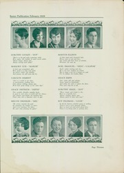 Page 15, 1928 Edition, South Hills High School - Lives Yearbook (Pittsburgh, PA) online yearbook collection