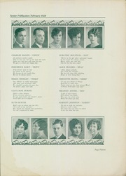 Page 17, 1928 Edition, South Hills High School - Lives Yearbook (Pittsburgh, PA) online yearbook collection