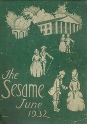 1932 Edition, South Hills High School - Lives Yearbook (Pittsburgh, PA)