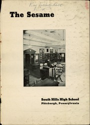 Page 3, 1936 Edition, South Hills High School - Lives Yearbook (Pittsburgh, PA) online yearbook collection