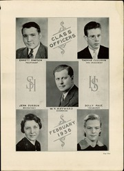 Page 7, 1936 Edition, South Hills High School - Lives Yearbook (Pittsburgh, PA) online yearbook collection