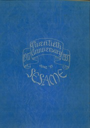 1937 Edition, South Hills High School - Lives Yearbook (Pittsburgh, PA)