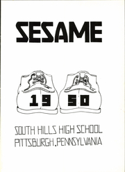 Page 5, 1950 Edition, South Hills High School - Lives Yearbook (Pittsburgh, PA) online yearbook collection