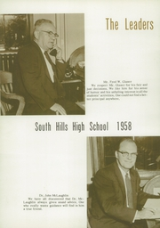 Page 10, 1958 Edition, South Hills High School - Lives Yearbook (Pittsburgh, PA) online yearbook collection