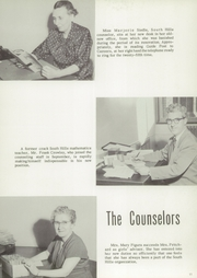 Page 17, 1958 Edition, South Hills High School - Lives Yearbook (Pittsburgh, PA) online yearbook collection